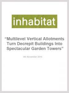 Inhabitat: Multilevel Vertical Allotments Turn Decrepit Buildings Into Spectacular Garden Towers