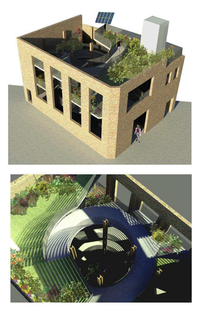 Multileveled Vertical Urban Allotments