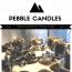 Pebble Candles